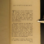 1783 Letters of Junius Newspaper Constitution Laws Government Americana 2v SET
