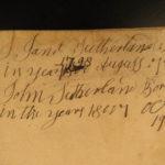 1787 RARE Alexander Kincaid Scottish HOLY BIBLE Scotland Edinburgh + Paraphrases