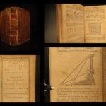 1788 1ed EARLY American System of Arithmetic Nicolas Pike Mathematics Algebra