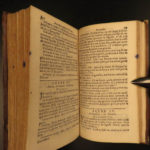 1698 1ed Harlequin Plays of Regnard & Fatouville Hotel Bourgogne French Theatre