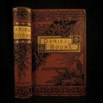 1883 Daniel BOONE American Frontier Hunting Kentucky Missouri Adventures