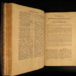 1762 ENORMOUS Book of Common Pulpit FOLIO Bible Prayer Psalms Church of England