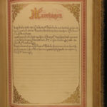 1871 EXQUISITE Family Holy BIBLE Lippincott Bagster BINDING Illustrated