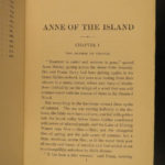 1915 1st/1st Anne of the Island Green Gables Literature Orphan Story Montgomery