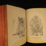 1857 Lincolnshire Architecture Society Illustrated Cathedrals Heraldry Britain