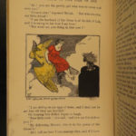 1910 1ed Lilac Fairy Book Andrew Lang Color Illustrated IRISH Scottish Folklore