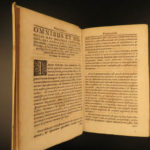 1698 Augsburg Confession Lutheran Reformation Martin Luther Rechenberg Concordia