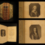 1811 PORTRAITS Memoirs of Grammont by Irish Antoine Hamilton Charles II England