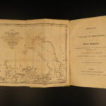 1819 1ed Arctic MAPS Fisher Journal of William Parry Voyage Eskimos North Pole