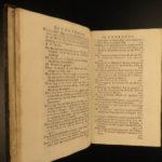 1728 Clarke on GOD + English Philosophy + Letters Boyle Spinoza Hobbes Liberty
