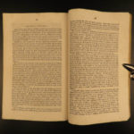 1843 True 1st INDIAN Tribes Lang & Taylor Report on Cherokee Native Americans