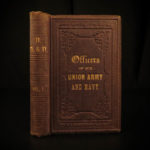 1862 1st ed Officers of Union Army Navy Generals American CIVIL WAR Battles