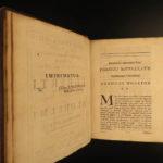 1693 RARE Saint Venerable Bede on Bible Genesis + St Aldhelm on Virginity NUNS