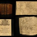1765 RARE Montesquieu Spirit of the Laws Political Government MAPS French 6v
