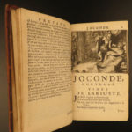 1696 1ed Contes of Jean de Fontaine Tales French Literature Aesop Erotica Brunel