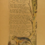 1927 William Blake Songs of Experience British Museum Poetry Color Illustrated