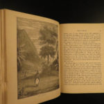 1871 Captain Cook Voyages Australia Tahiti Hawaii Arctic Pacific Illustrated