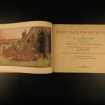1928 Native American INDIAN Tales Folklore Animals Color Illustrated El Comancho