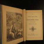 1880 English Poetry Edmund Spencer Faerie Queene Alexander Pope & Jean Ingelow