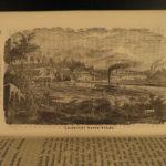1864 PHILADELPHIA Stranger's Guide Americana Tourism Indian War Illustrated MAP