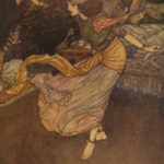 1911 Arabian Nights Edmund Dulac Illustrated Ali Baba Aladdin English Housman