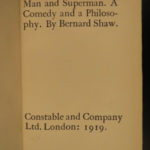 1911 EXQUISITE George Bernard Shaw IRISH Theater Man & Superman Cleopatra 8v SET