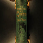 1882 Jules Verne Tribulations of Chinaman CHINA Opium Extraordinary Voyages
