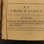 1683 1ed Julian the Apostate George Hickes Jovian Answer to Samuel Johnson ROME