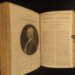 1796 AMERICA Washington Farewell Address Macartney Voyages Tobacco Hindu India