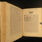 1556 1ed Images of the gods Vincenzo Cartari Italian Art Greco-Roman Mythology