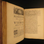 1650 Virgin Mother MARY Privileges by Daniel Priezac Mariology Catholic Church