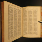 1697 Ozanam Mathematics Table de Sinus Geometry Logarithms Tangents Trigonometry