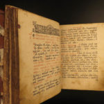 1787 RUSSIAN Prayer Book Orthodox Traditional Liturgy Slavic Devotional Slovak