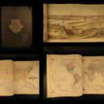 1874 1st ed ATLAS of Minnesota Andreas MAPS Illustrated Minneapolis St. Paul