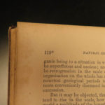 1869 Darwin Origin of Species American ed Evolution pre-Survival of the Fittest
