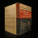 1958 1ed Martin Luther King Stride Toward Freedom RACISM Rosa Parks + DJ