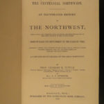 1876 1st ed Centennial Northwest History Indians Pioneers Railroads Wild West