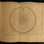 1741 Mathematics & Physics Ozanam Recreations Magic Navigation Optics Science 4v