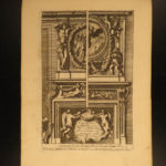 1677 Architecture Jean le Pautre Italian Chimneys French Fireplaces Columns Art