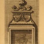 1677 Architecture Jean le Pautre Italian Chimneys French Fireplaces Columns Art