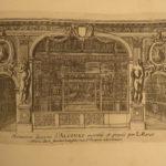 1678 Architecture Jean le Pautre Italian Alcoves French Arches Arabesque Doors