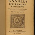 1665 1ed Cointe Annals of Catholic Church in France Frankish Papacy Chronology