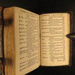 1682 Imitation of Christ Thomas a Kempis Latin Egmond Monastic Prayers MINIATURE