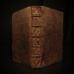 1666 Frankish King CLOVIS Desmarets Epic Poem Christian PAGAN French Illustrated