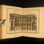 1720 Famed Architecture of D'Aviler Illustrated ART Michelangelo Vignola French