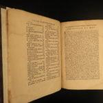 1687 1st ed Mabillon Museum Italicum Italian Voyages Paleography Illustrated