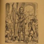 1870 SCOTLAND Poetry of William Aytoun Lays of Scottish Cavaliers Illustrated