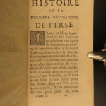 1742 History of PERSIA Revolutions Nader Shah Kouli Khan Iran MAP Middle East 2v