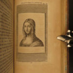 1796 Leonardo Da Vinci Treatise on Painting Science & ART Illustrated Drawing