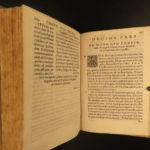 1570 Jesuit Constitutions Ignatius Loyola Society of Jesus + 1651 Piccolomini